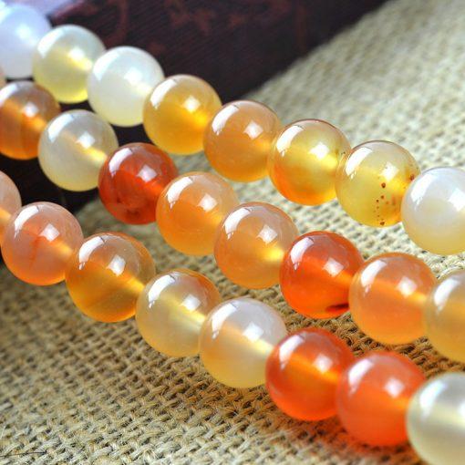 Featured 6-14MM natural agate gemstone beads DIY accessories GLGJ-113