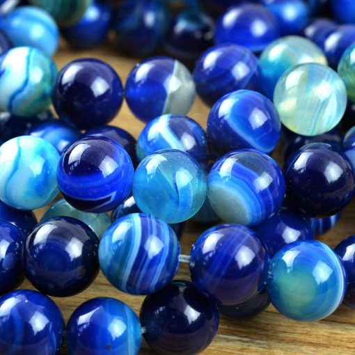 Sea blue sky beads agate DIY agate wholesale GLGJ-120