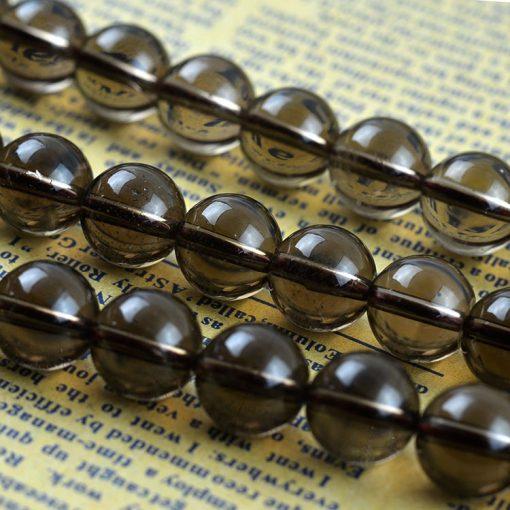 5-16mm natural brown crystal DIY loose beads wholesale GLGJ-129
