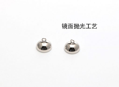 S925 silver handmade accessories DIY necklace bracelet magnet ball buckle SZYX-195