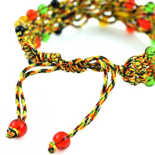 Fashion hand-made colorful rope beads best-selling bracelet GLGJ-125