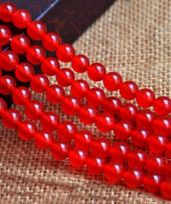 6-12mm A goods chalcedony DIY loose beads accessories wholesale GLGJ-185