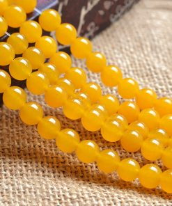 6-12mm Topaz DIY loose beads accessories about 39cm string GLGJ-188