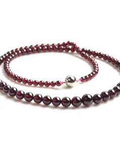 20 inch boutique 4A grade genuine natural garnet tower chain GLGJ-169