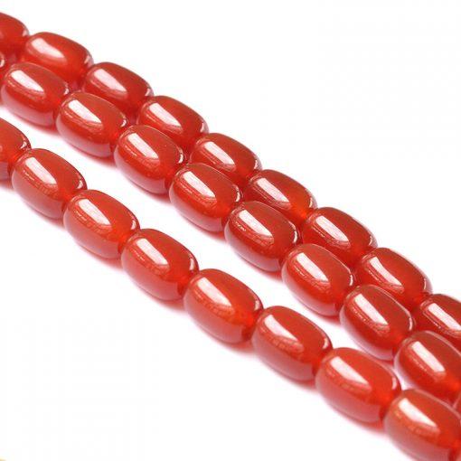 Fine A grade natural red agate DIY loose beads wholesale GLGJ-097