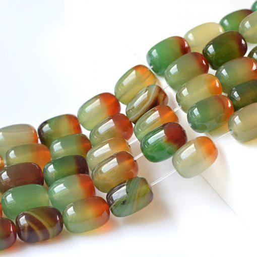 Natural Peacock Agate Loose Beads DIY Bracelet Accessories Wholesale GLGJ-103
