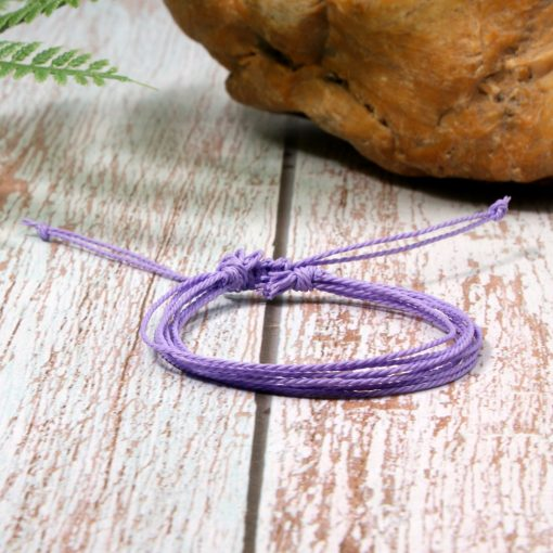 Europe and America best selling waterproof wax line bohemian color braided friendship bracelet mixed batchXH-250