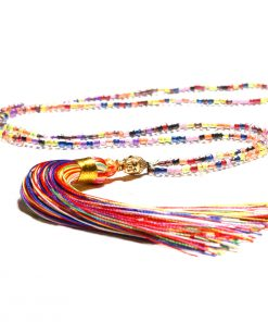 Europe and the United States selling handmade beaded religious style Buddha head tassel long necklace wholesale XH-221