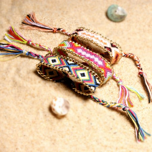 Braided bracelet Europe and America summer best selling bohemian ethnic style lucky friendship bracelet XH-249