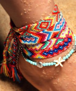 Best-selling summer starfish beach retro ethnic style woven ladies chain XH-242