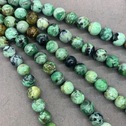 Phosphorite round beads ethnic style single loop elastic bracelet manufacturers wholesale men and women models