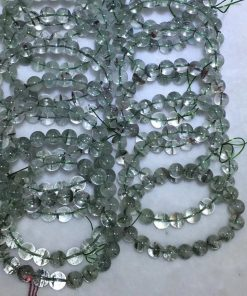 Factory direct supply of natural Phantom Crystal bracelet, beautiful color, crystal, transparent, simple, retro, good quality NBC-006