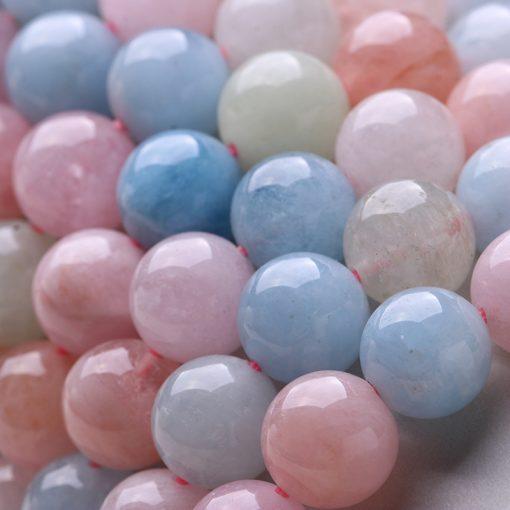 Natural morganite beryl candy color bracelet wholesale